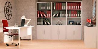 Imagen de Ambiente de Oficina Melamina Blanco Soft Ref.001