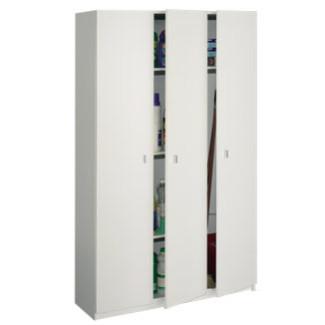 Imagen de Armario 3 Puertas blanco Multiusos Modelo 8005