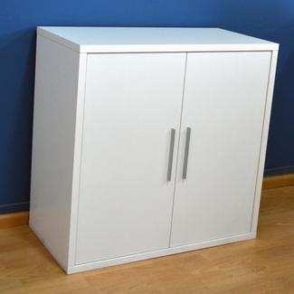 Imagen de Estanteria 2 Puertas Color Blanco Soft 40x80x76.7cm