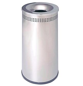 Imagen de Papelera Acero Inoxidable 39 litros Perforada Ref.147-I